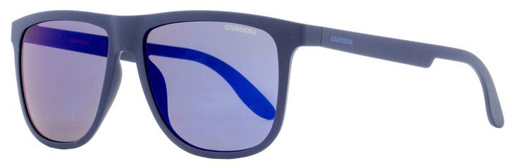 Carrera Rectangular Sunglasses 5003/ST KRWXT Matte Dark Blue 57mm 5003