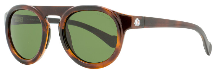 Moncler Oval Sunglasses ML0088 52N Havana 51mm 0088