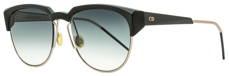 Dior Faceted Sunglasses DiorSpectral 01MR0 Black/Gold 53mm