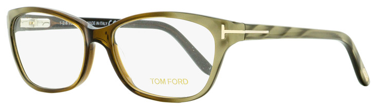 Tom Ford Classic Eyeglasses TF5142 050 Brown/Olive Green 54mm FT5142