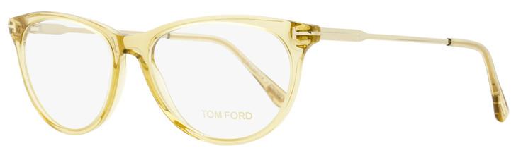 Tom Ford Oval Eyeglasses TF5509 045 Champagne/Gold 54mm FT5509