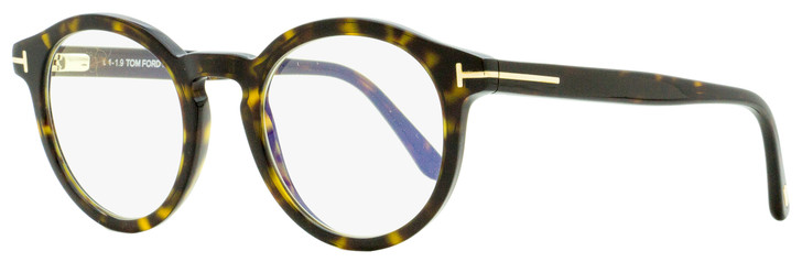 Tom Ford Oval Eyeglasses TF5529B 052 Dark Havana 50mm FT5529