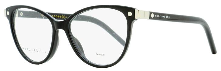 Marc Jacobs Oval Eyeglasses Marc 20 807 Black/Palladium 51mm