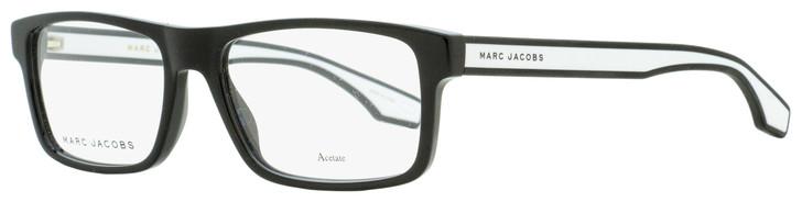 Marc Jacobs Rectangular Eyeglasses Marc 290 80S Black/White 55mm