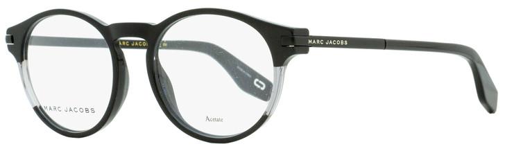 Marc Jacobs Oval Eyeglasses Marc 296 807 Black/Clear 51mm