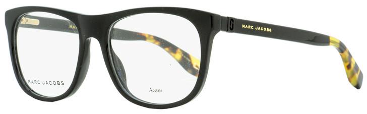 Marc Jacobs Rectangular Eyeglasses Marc 353 807 Black/Vintage Havana 54mm