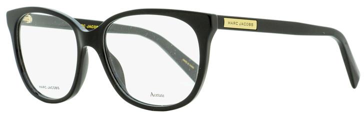 Marc Jacobs Rectangular Eyeglasses Marc 430 807 Black 53mm