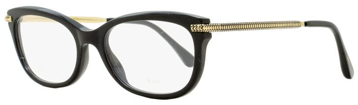 Jimmy Choo Rectangular Eyeglasses JC217 807 Black/Gold 52mm 217