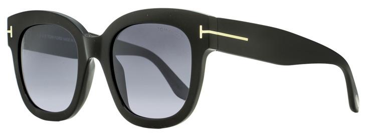 Tom Ford Square Sunglasses TF613 Beatrix-02 01C Black 52mm FT0613