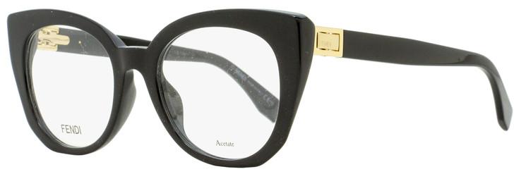 Fendi Peekaboo Eyeglasses FF0272 807 Black/Gold 50mm 272