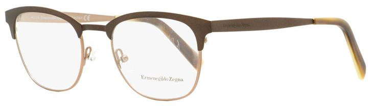 Ermenegildo Zegna Classic Eyeglasses EZ5099 050 Matte Brown/Horn 50mm 5099