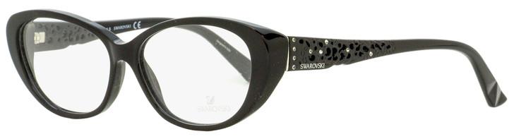 Swarovski Day Eyeglasses SK5083 001 Shiny Black 54mm SW5083