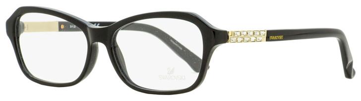 Swarovski Deborah Eyeglasses SK5086 001 Black/Gold 55mm SW5086