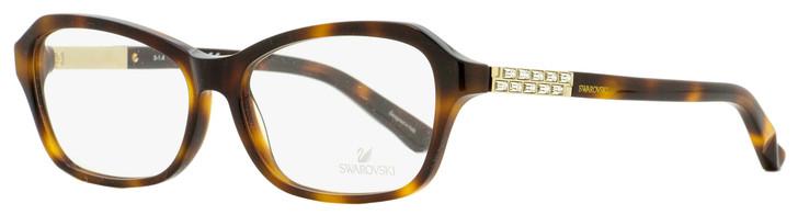 Swarovski Deborah Eyeglasses SK5086 052 Havana/Gold 55mm SW5086
