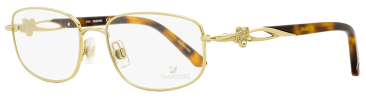 Swarovski Estella Eyeglasses SK5126 032 Gold/Havana 52mm SW5126