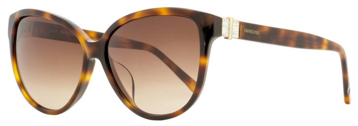 Swarovski Felicity Sunglasses SK0120F 53F Havana 58mm SW0120F