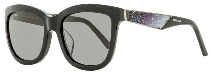 Swarovski Square Sunglasses SK0125F 01E Black 54mm SW0125F