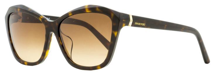 Swarovski Butterfly Sunglasses SK0135F 52F Dark Havana 59mm SW0135F