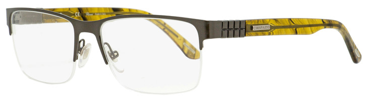 Chopard Ice Cube Eyeglasses VCHA78 0K10 Dark Gunmetal 56mm A78