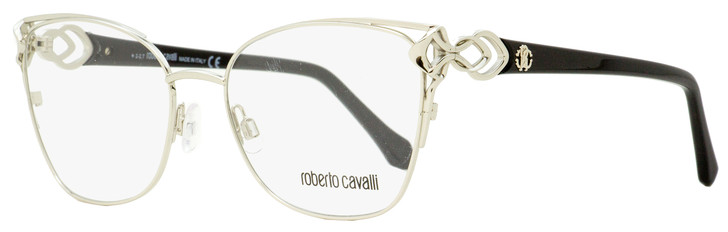 Roberto Cavalli Butterfly Eyeglasses RC5062 Londra 016 Palladium/Black 53mm 5062