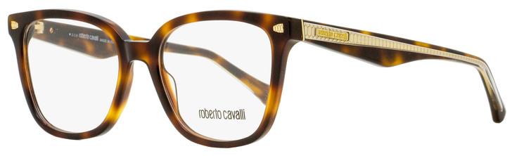 Roberto Cavalli Rectangular Eyeglasses RC5078 Murlo 052 Havana/Gold 52mm 5078