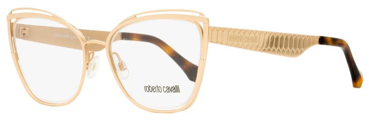 Roberto Cavalli Butterfly Eyeglasses RC5081 Orbetello 033 Gold 53mm 5081