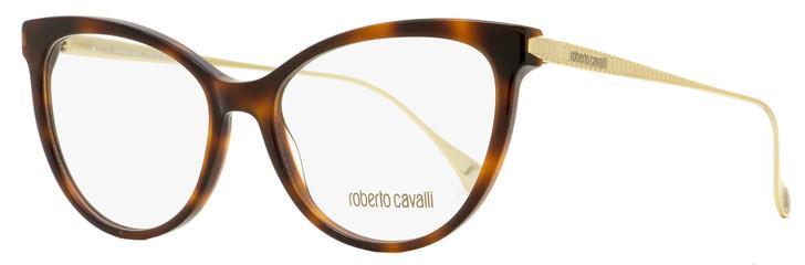 Roberto Cavalli Butterfly Eyeglasses RC5115 052 Havana/Gold 54mm 5115