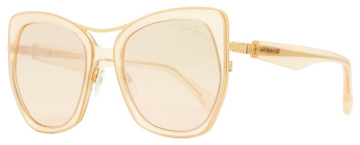 Roberto Cavalli Square Sunglasses RC1093 Montespertoli 72G Gold/Rose 55mm 1093