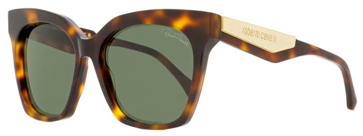 Roberto Cavalli Square Sunglasses RC1097 Montieri 52N Dark Havana 57mm 1097