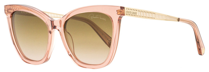 Roberto Cavalli Cateye Sunglasses RC1112 72F Transparent Rose/Gold 55mm 1112