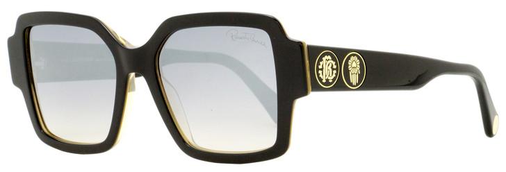 Roberto Cavalli Square Sunglasses RC1130 01C Black 54mm 1130
