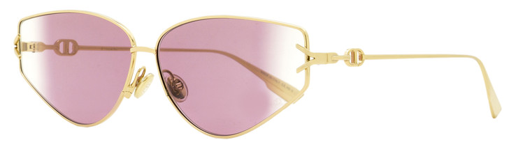 Dior Cateye Sunglasses Gipsy 2 0009R Gold 62mm