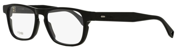 Fendi Rectangular Eyeglasses FFM0016 807 Black 51mm M0016