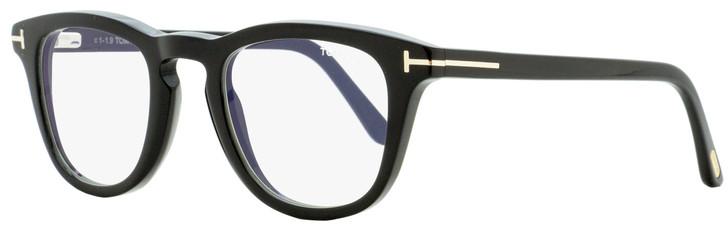 Tom Ford Blue Block Eyeglasses TF5488B 001 Black 47mm FT5488