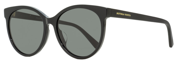 Bottega Veneta Oval Sunglasses BV1022SK 001 Black 55mm 1022
