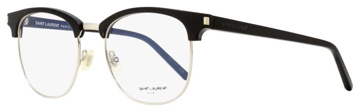 Saint Laurent Square Eyeglasses SL 104 001 Black/Palladium 52mm 104
