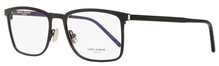 Saint Laurent Rectangular Eyeglasses SL 226 005 Matte/Shiny Black 54mm 226