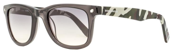 Dsquared2 Preston Sunglasses DQ0171 20B Transparent Gray/Camo 52mm 171