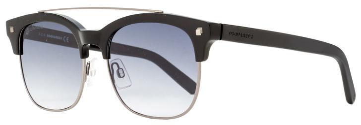 Dsquared2 Geremy Sunglasses DQ0207 01B Black/Gunmetal 53mm 207