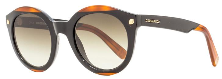 Dsquared2 Cara Sunglasses DQ0224 05F Black/Havana 50mm 224