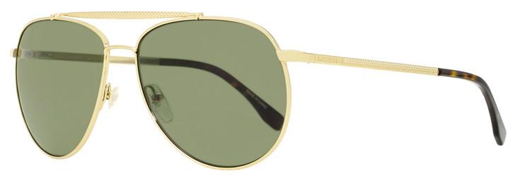 Lacoste Pilot Sunglasses L177SP 714 Gold/Havana Polarized 59mm 177