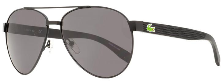 Lacoste Aviator Sunglasses L185S 001 Matte Black 60mm 185