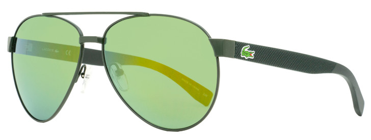 Lacoste Aviator Sunglasses L185S 315 Dark Green 60mm 185