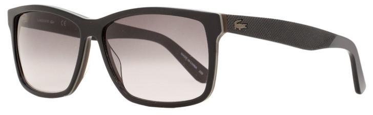 Lacoste Rectangular Sunglasses L705S 001 Black 57mm 705