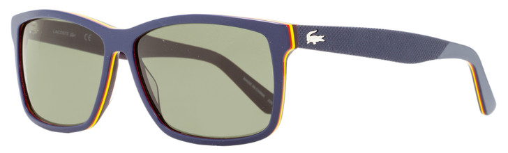 Lacoste Rectangular Sunglasses L705S 421 Navy Blue 57mm 705