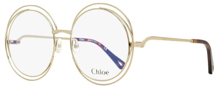 Chloe Halo Eyeglasses CE2152 906 Medium Gold 54mm 2152