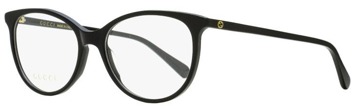 Gucci Oval Eyeglasses GG0550O 001 Black 51mm 550