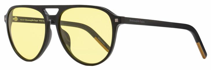 Ermenegildo Zegna Photochromic Sunglasses EZ0133 01H Black 57mm 133