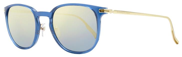 Ermenegildo Zegna Mirrored Sunglasses EZ0136 90X Gold/Blue 54mm 136