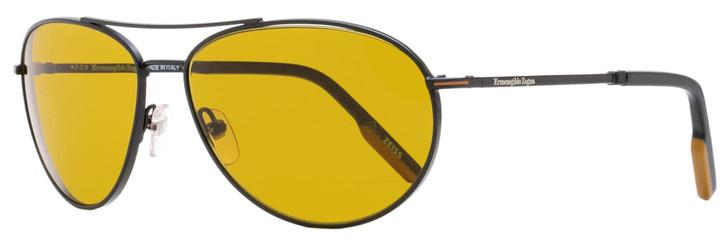 Ermenegildo Zegna Aviator Sunglasses EZ0139 02E Matte Black 62mm 139